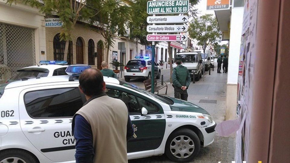 Suceso Montalbán Guardia Civil
