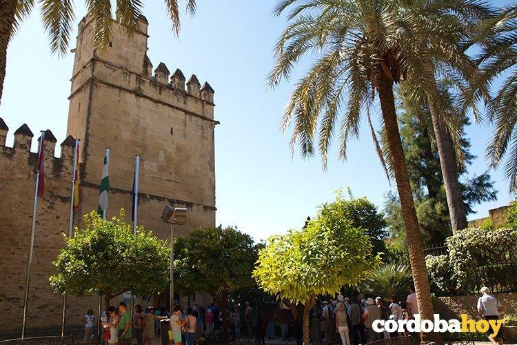 Alcazar de los reyes Catlicos en la capital cordobesa