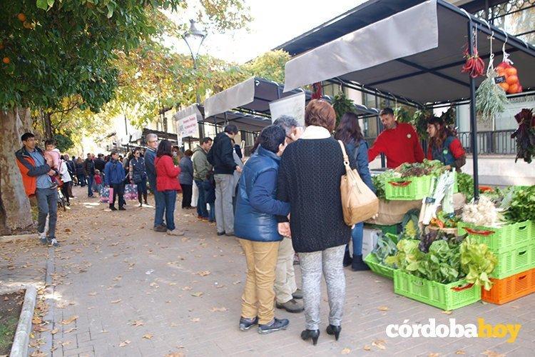 El Ecomercado ofrece una variedad de productos ecológicos de la provincia y también de comercio justo