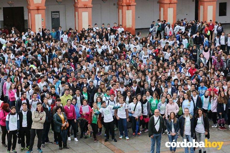 La delegada de Educación acompaña a 759 estudiantes que participan en la XXI Gymkhana Matemática por Córdoba