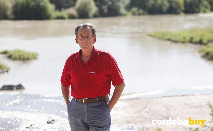 Paco León, presidente de la Mesa del Río