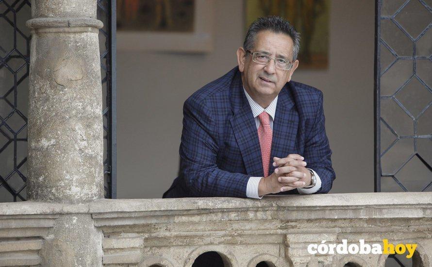 Ricardo Rojas en el Círculo de la Amistad. Foto: Roldán Serrano