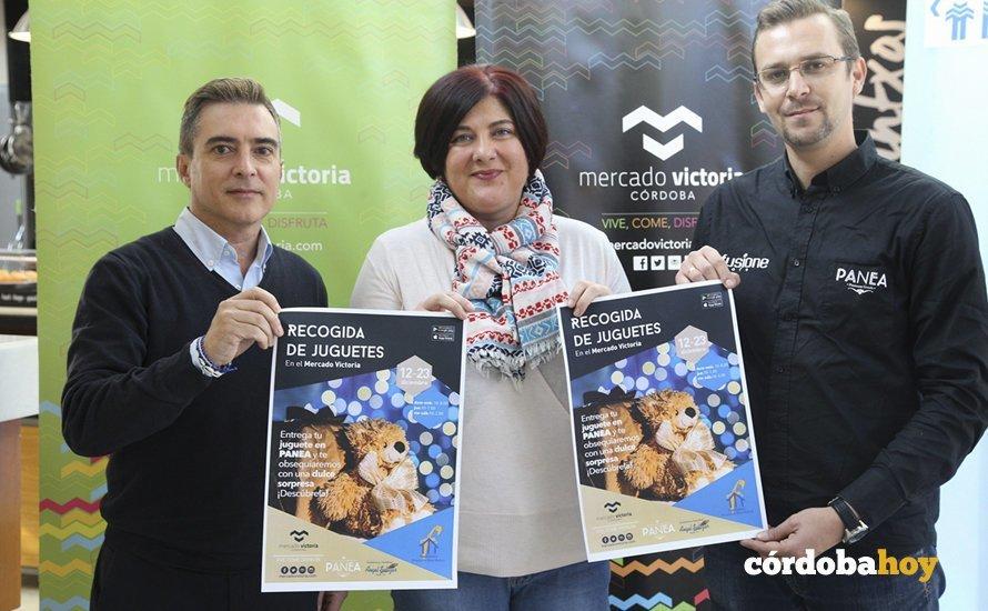 """El Mercado Victoria presenta la campaña solidaria """"Un juguete, un dulce"""""""