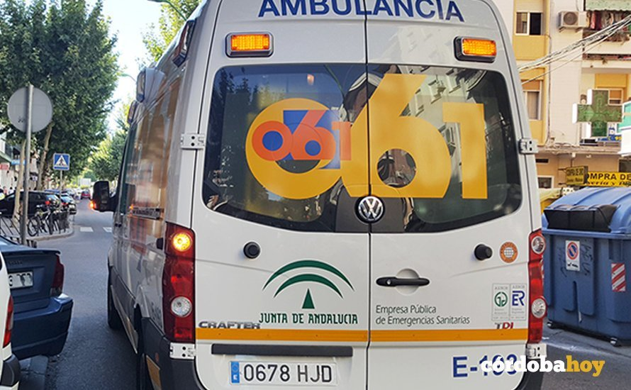 Ambulancia del 061 en Córdoba capital