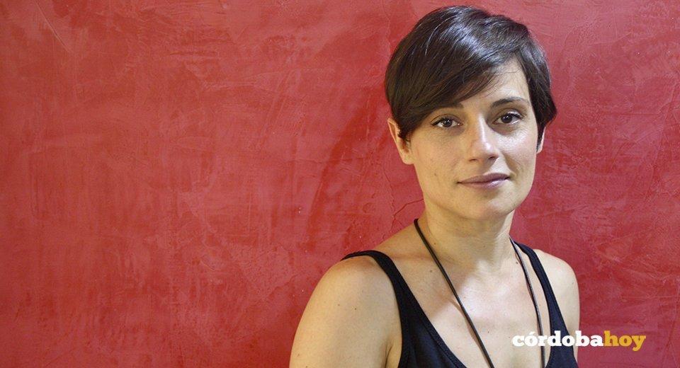 Carmen, madre de una niña con síndrome de Moyamoya