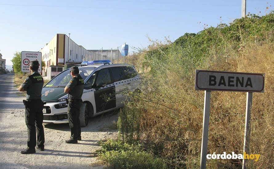 Agentes de la Guardia Civil de Baena