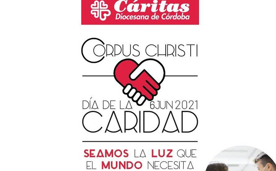 Cáritas Diocesana inicia la campaña del Corpus Christi bajo el lema 'Seamos  la luz que el mundo necesita'
